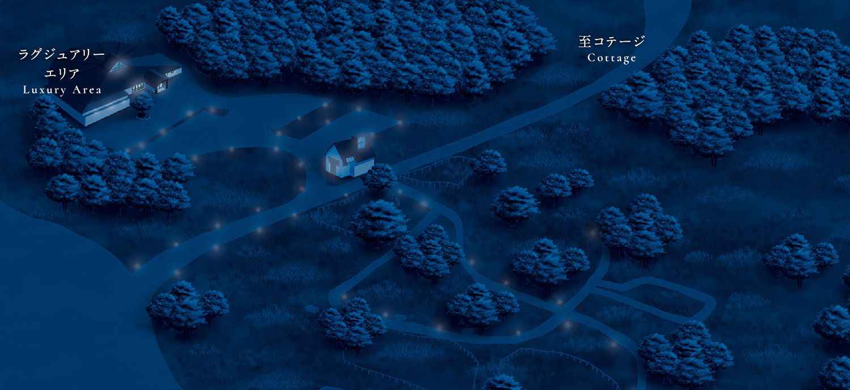 浪合パークの地図